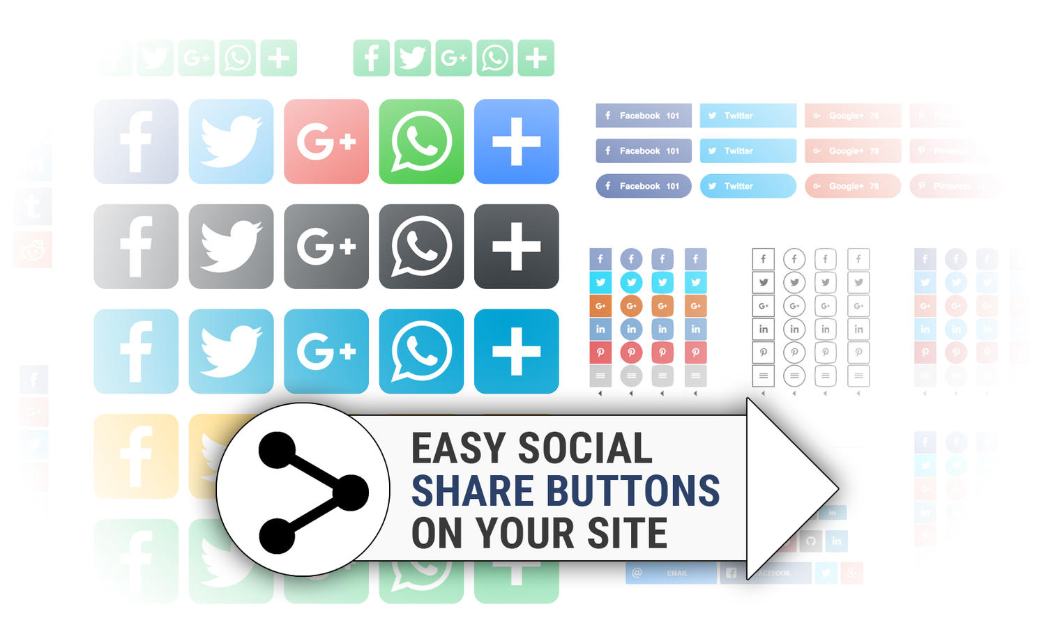 Easy Social Share Buttons Setup on your Site by madridnyc - 110933