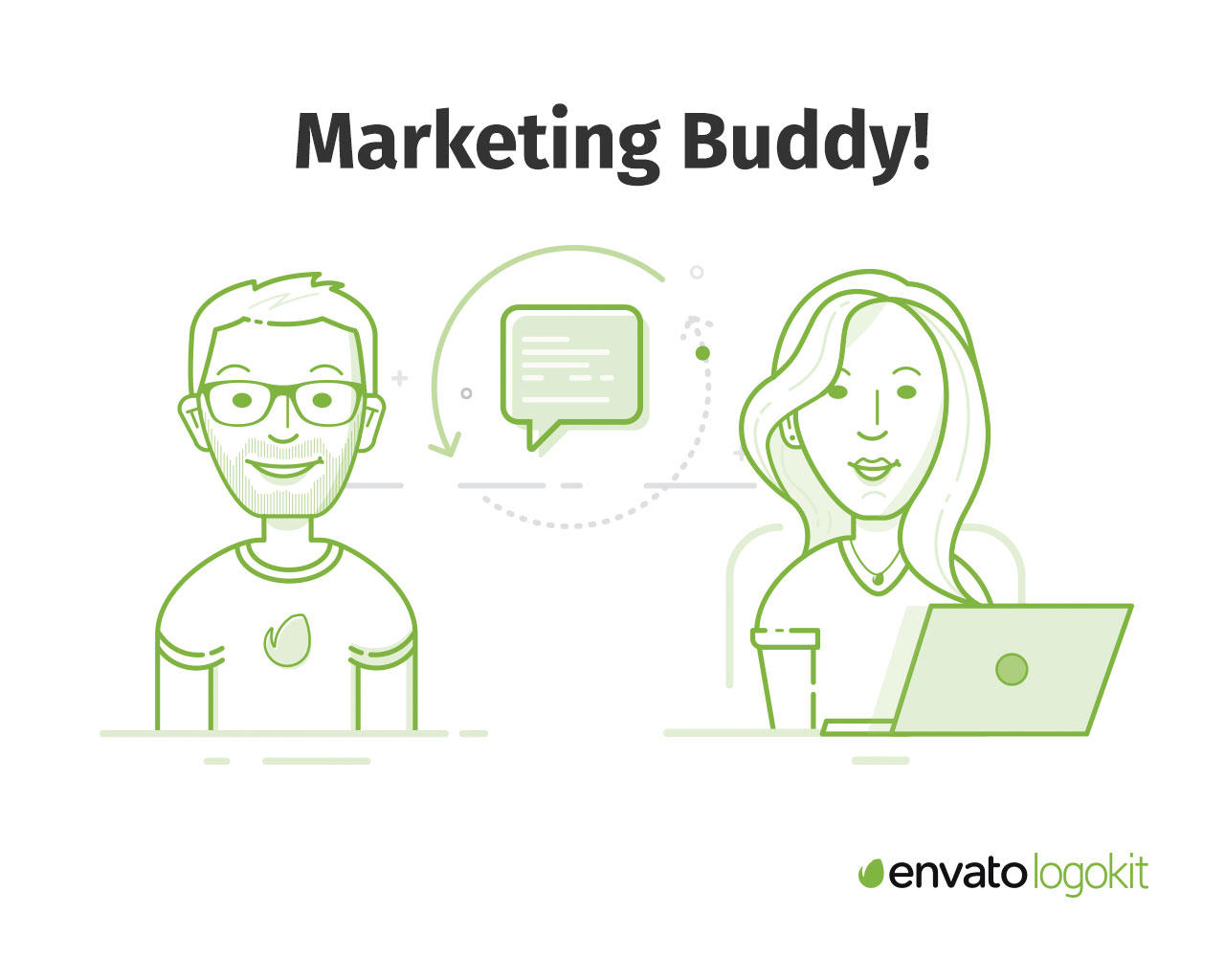 Marketing Buddy by envatologokit - 106638