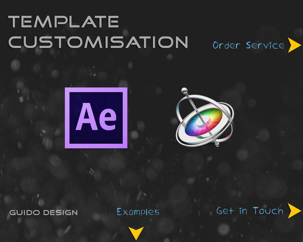 Professional After Effects - Apple Motion 5 Customization Template by GuidoDesign - 64210