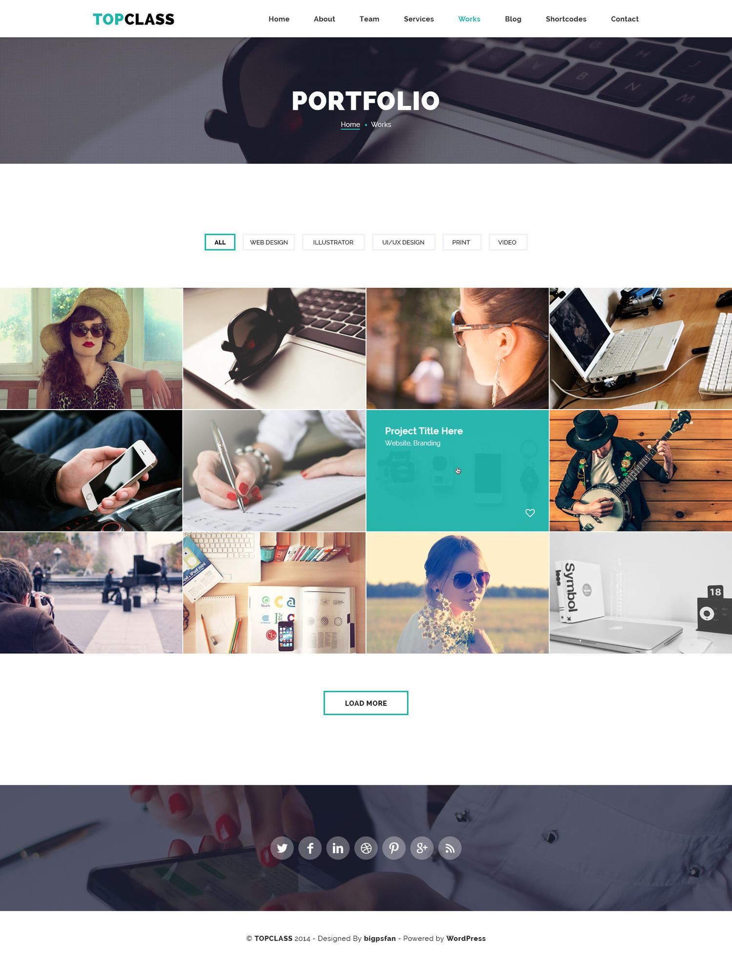 HTML to Wordpress Theme by Jewel_Theme - 106323