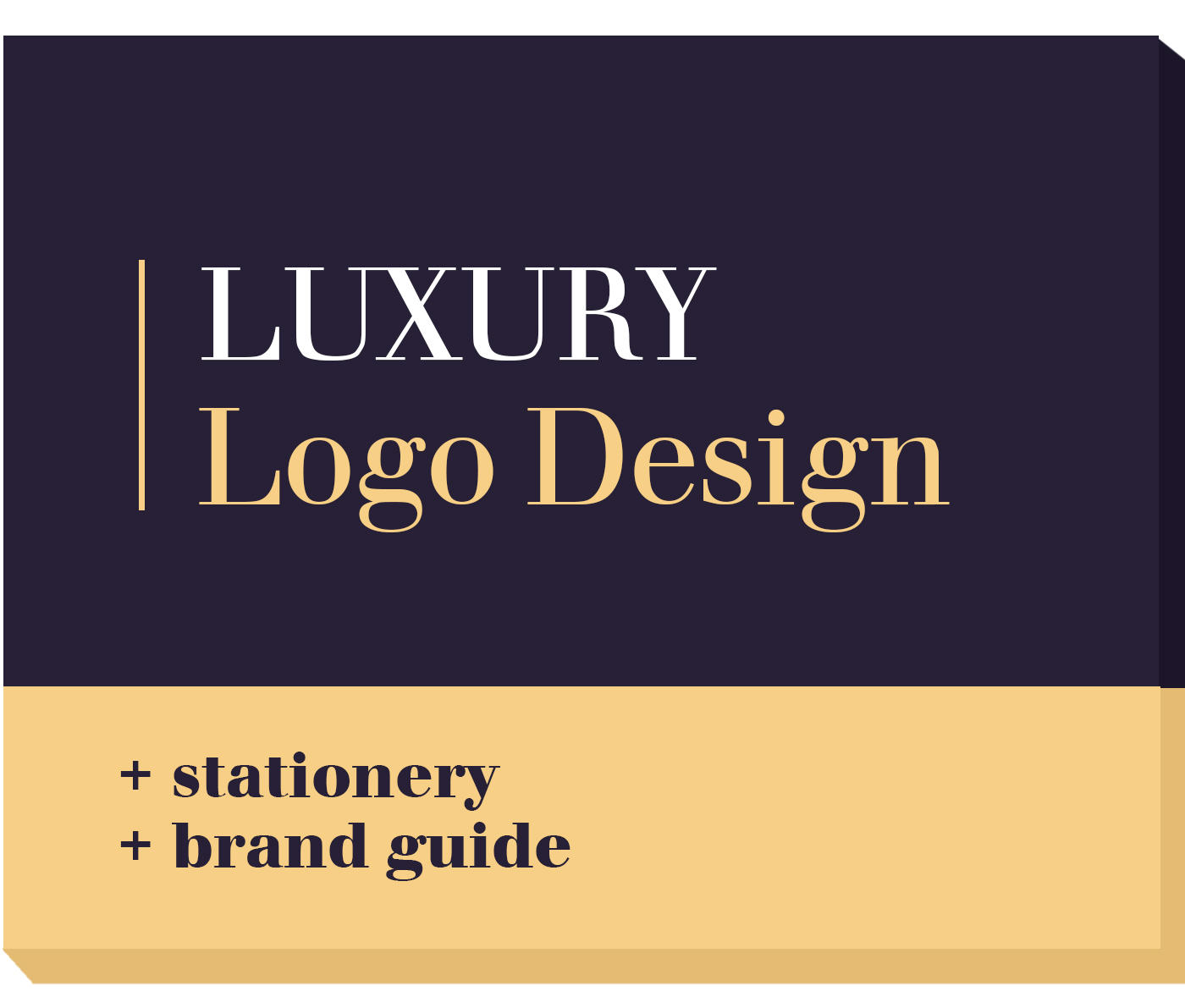 Luxury Logo Design + Brand Identity + Brand Guide by launchpixel - 107617