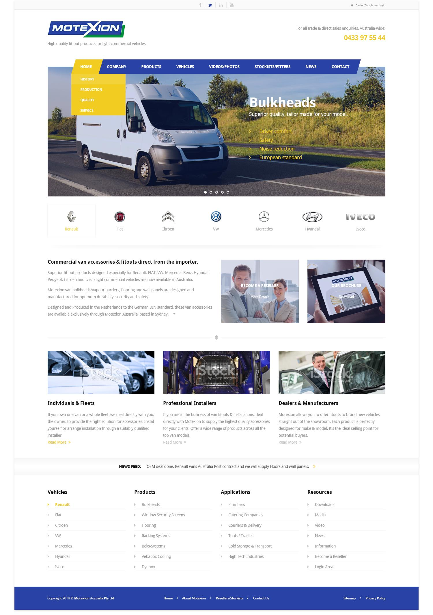 One Page Web Design / Redesign by wantdesign - 62258