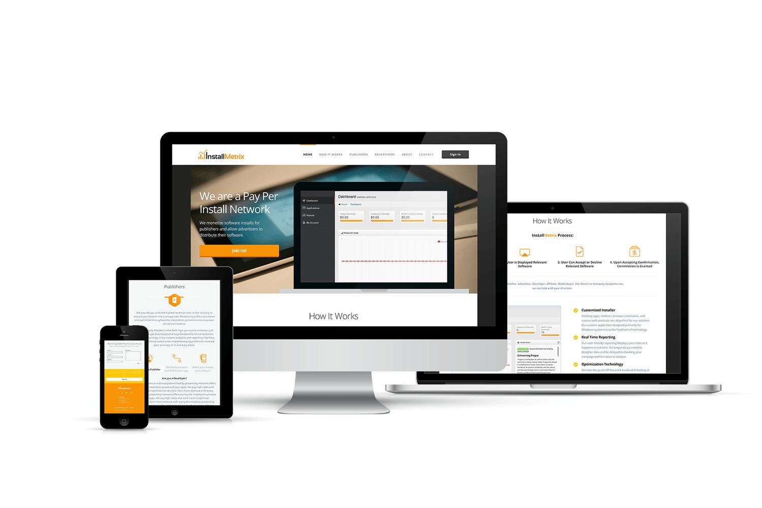 Responsive Website Design & Development by wantdesign - 62265