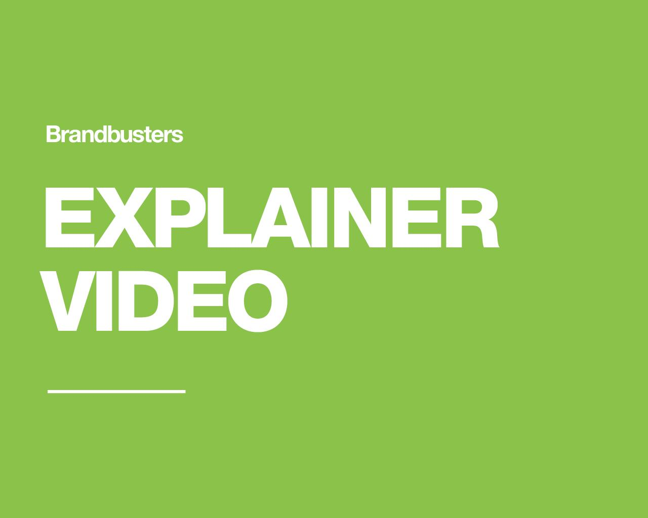 1 Minute Explainer Video (Voiceover and Music Included) by Brandbusters - 110654