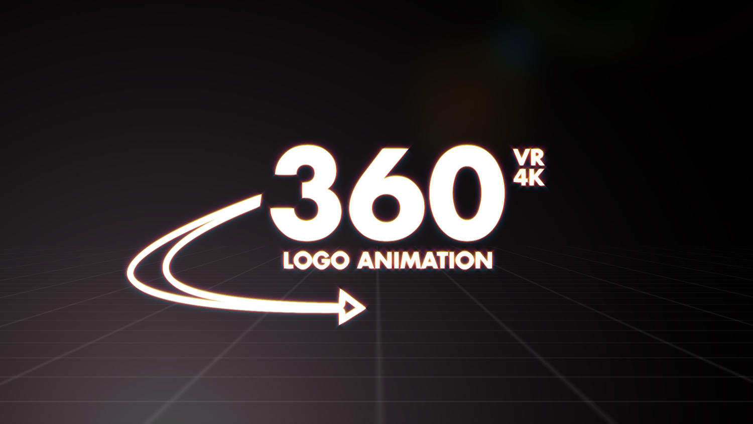 360 VR logo animation (4K) by BTreeM - 101915