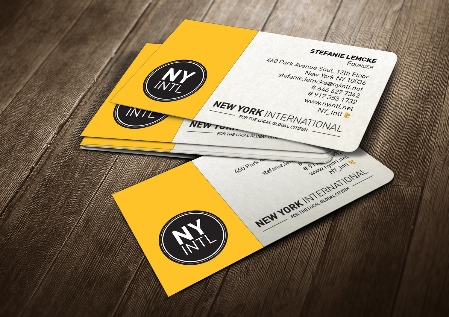 Professional Business Card Design By Madridnyc On Envato Studio