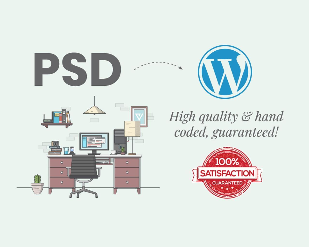 PSD to WordPress Responsive Website Conversion by uipro - 111198