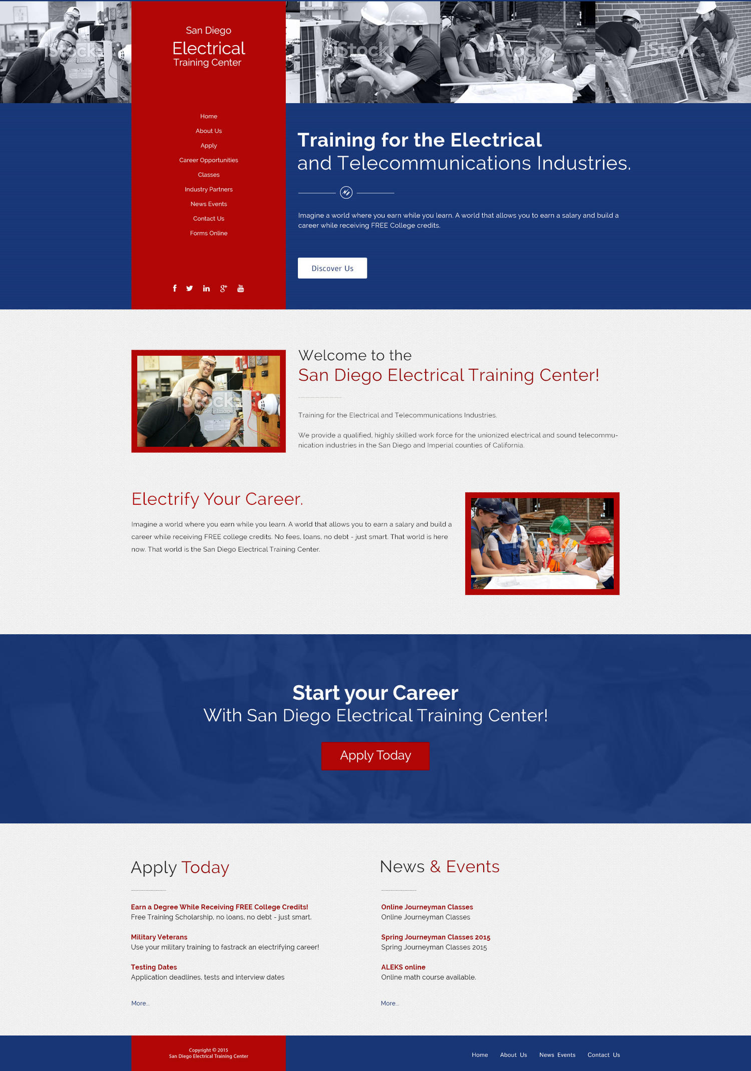 PSD Website Home Page Design by kreativenet - 99240