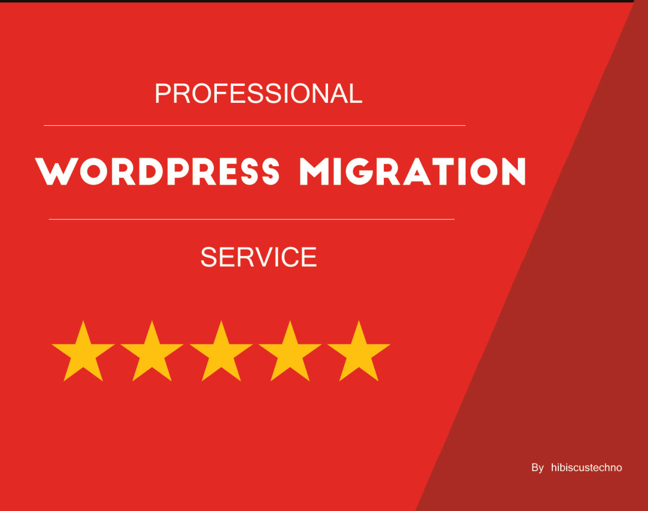 WordPress Migration by hibiscustechno - 107963