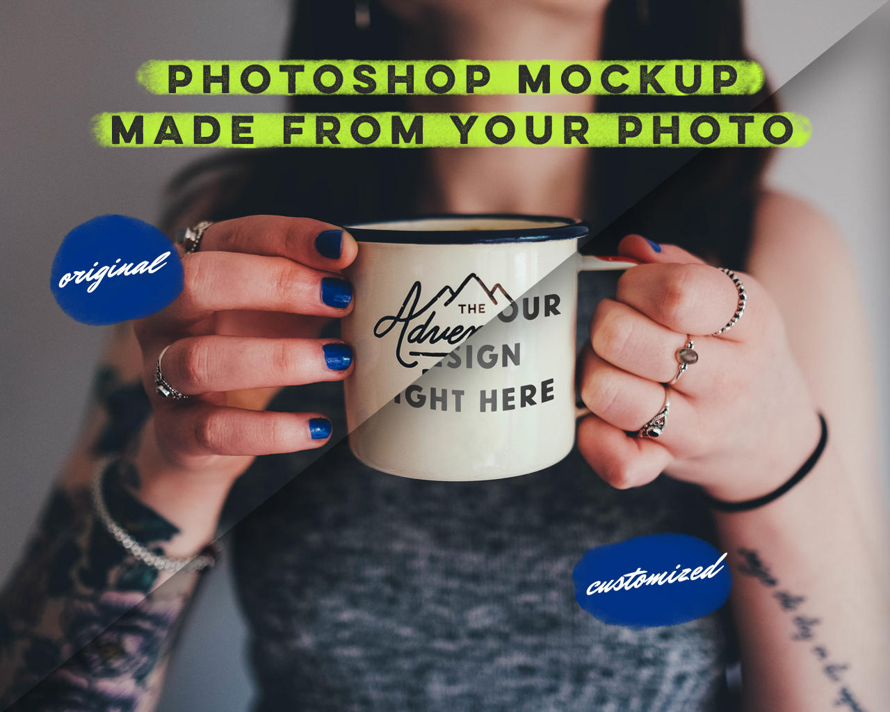 Photoshop Mockup Made from Your Photo by friskweb - 106993
