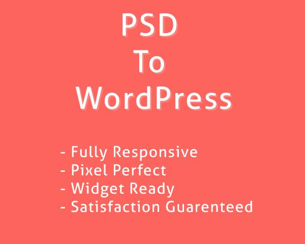 Pixel Perfect PSD to WordPress by iintellect - 44714