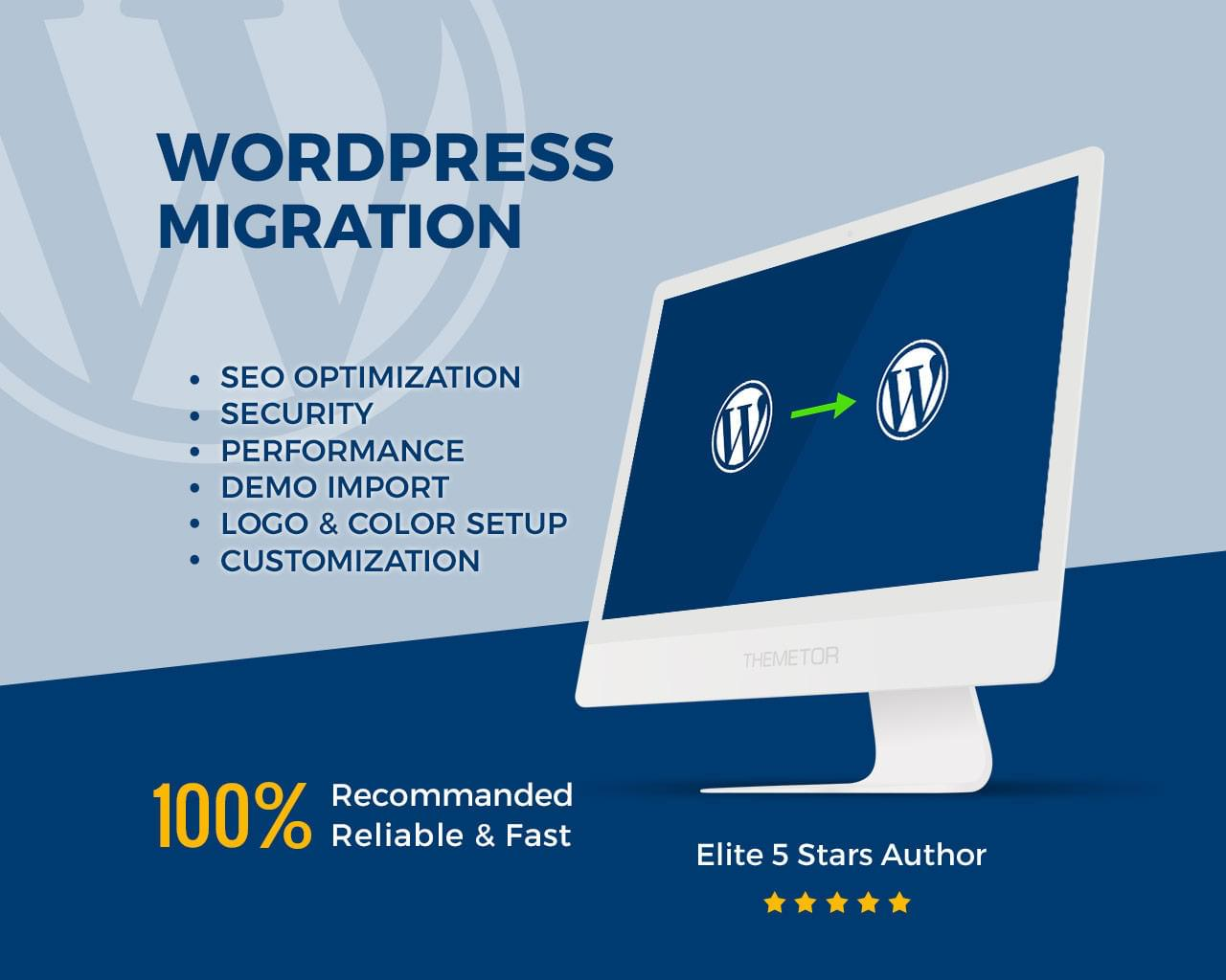 Express Wordpress Website Migration by ThemeTor - 113115
