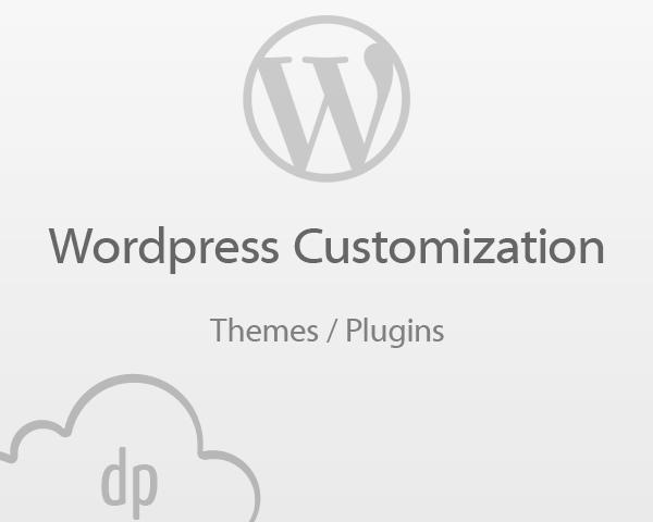 Wordpress Plugin / Theme Customization by DPereyra - 56701