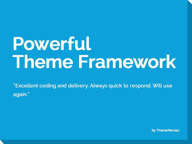 Convert HTML to WordPress Theme Framework by ThemeManiac - 54251