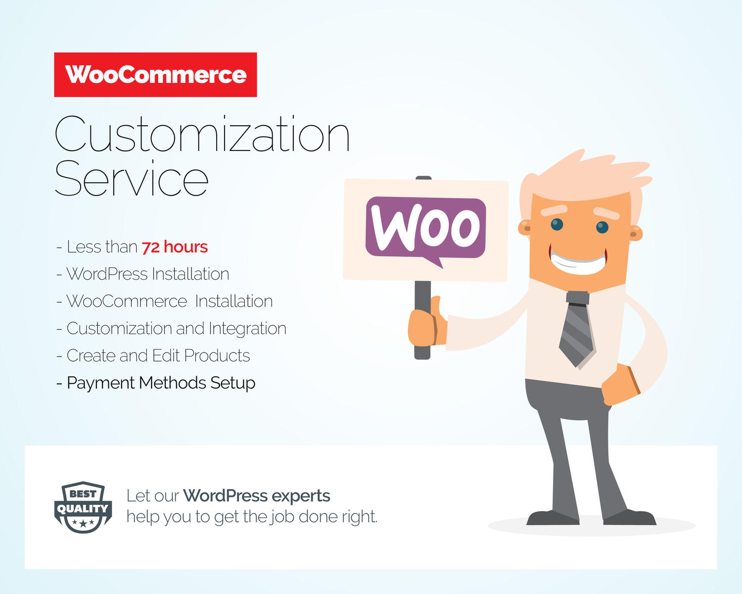 WooCommerce Customization Service by Besyar - 103775