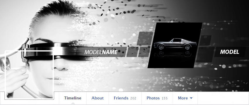 Stylish Facebook Timeline Cover by zulfijm - 10098