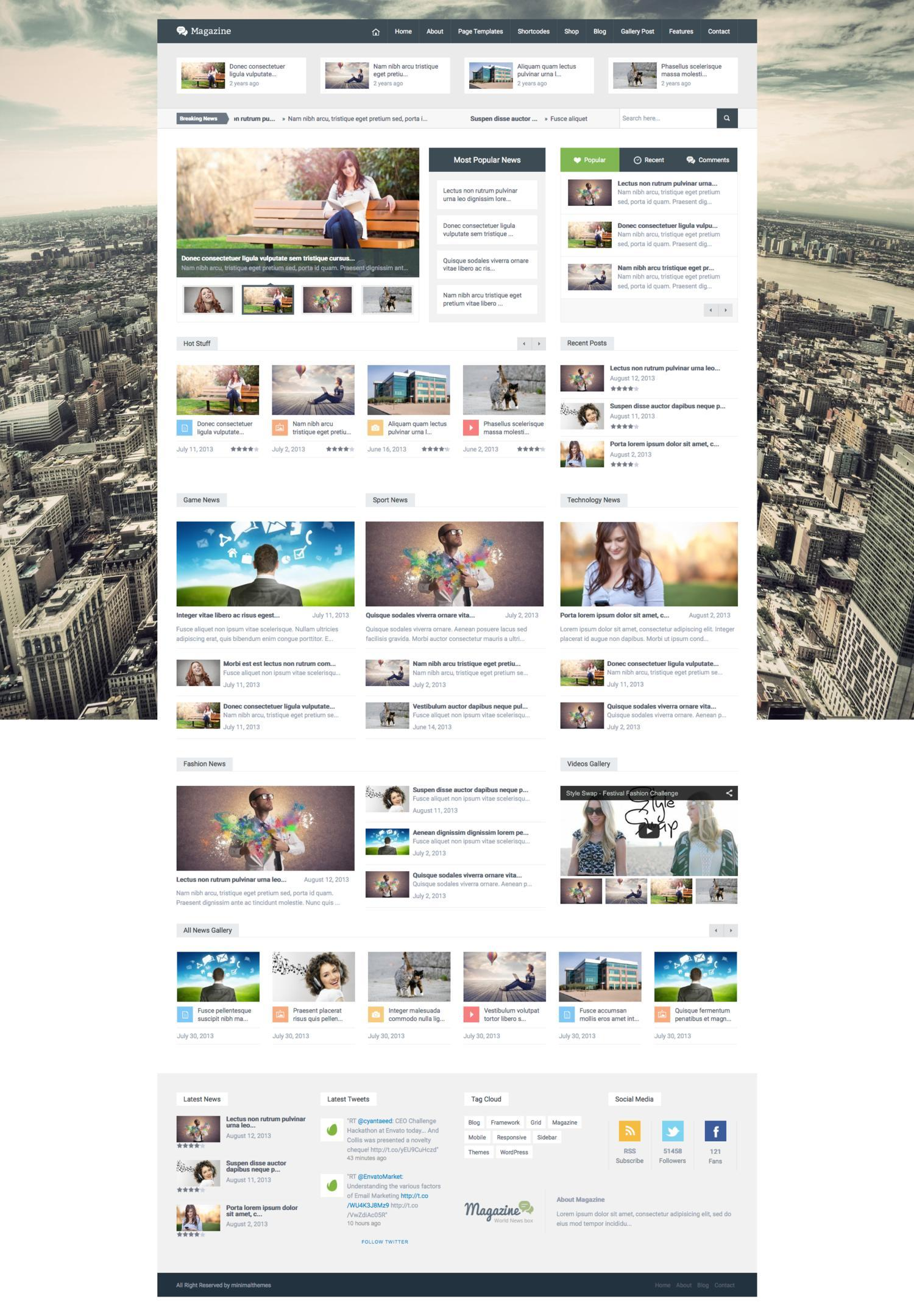 Full Website Design with Marketplace Standard by minimalthemes - 108697