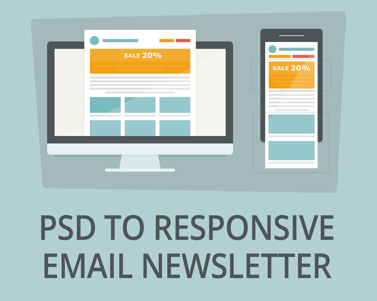 PSD to Responsive E-mail Newsletter by madridnyc - 107483