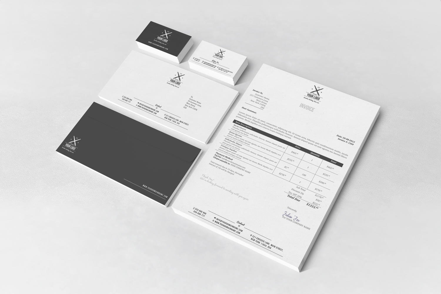 Corporate Brand Identity & Stationery Design by ArtyChristina - 107502