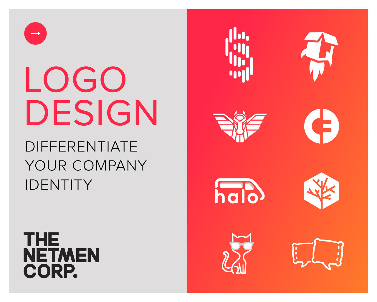 Custom & Original Logo Design by thenetmen - 101619