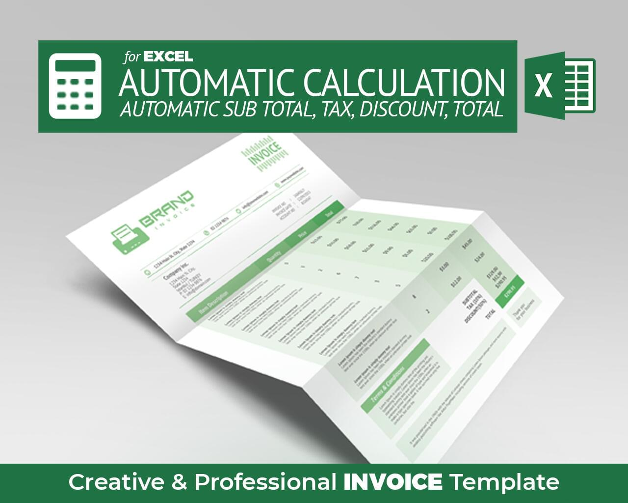 Excel Invoice & Proposal by hsynkyc - 118240