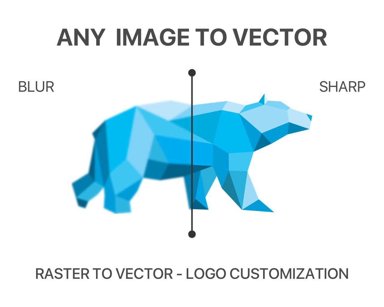 Raster Logo Image to Vector Conversion by masdab - 118898