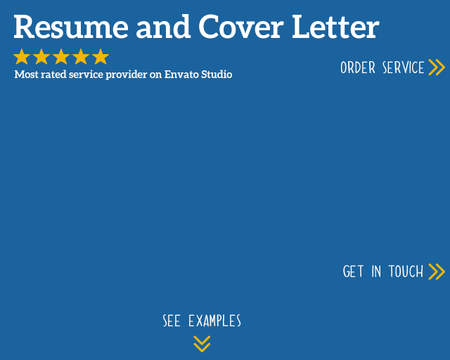 resumes  amp  cover letters services on envato studioprofessional resume and cover letter   qr code