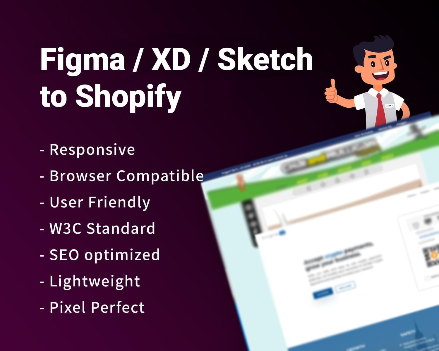 Figma / XD / Sketch to Shopify Conversion by hasanet - 119835