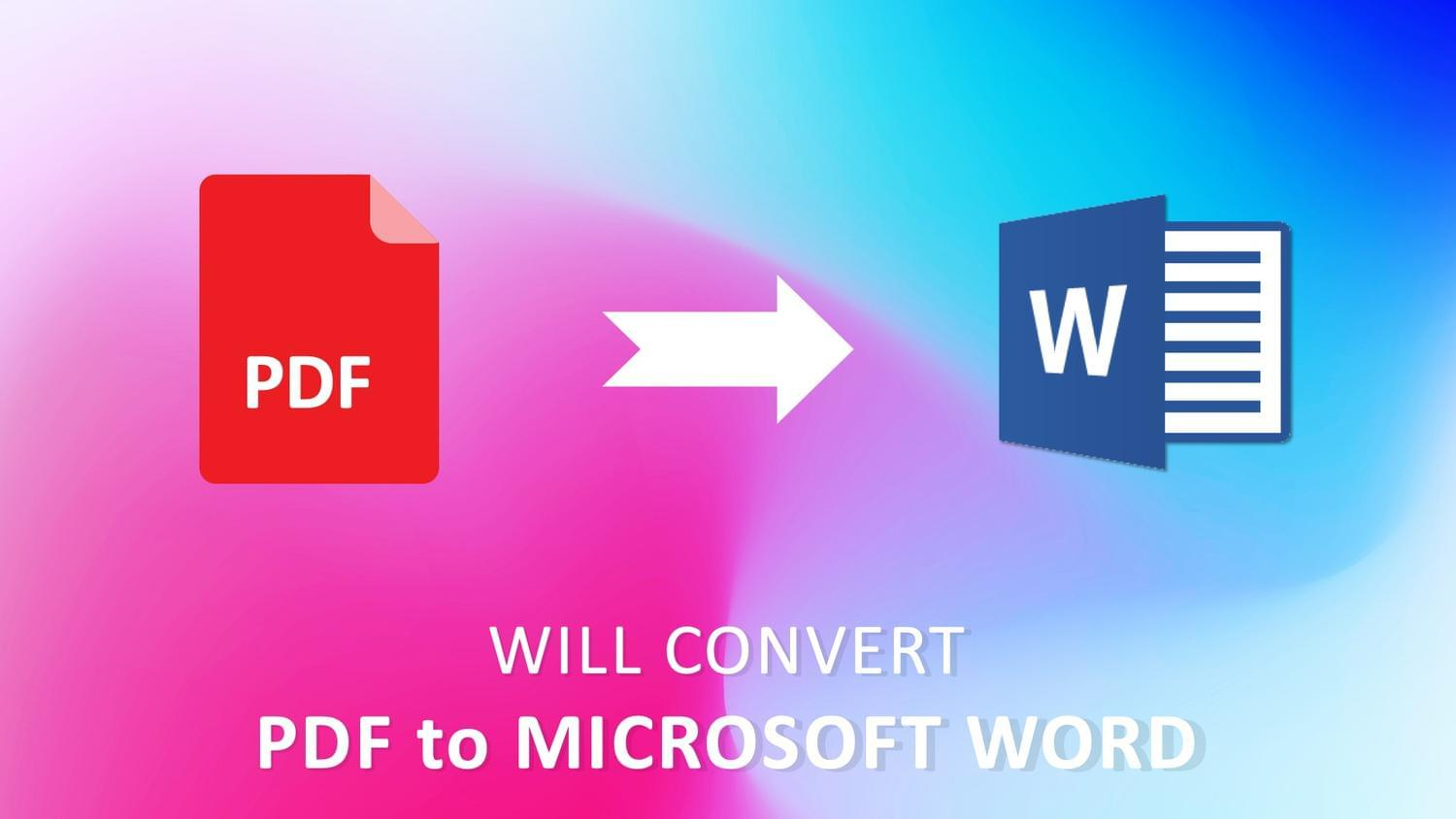 Convert PDF to Microsoft Word by arvaone - 115082