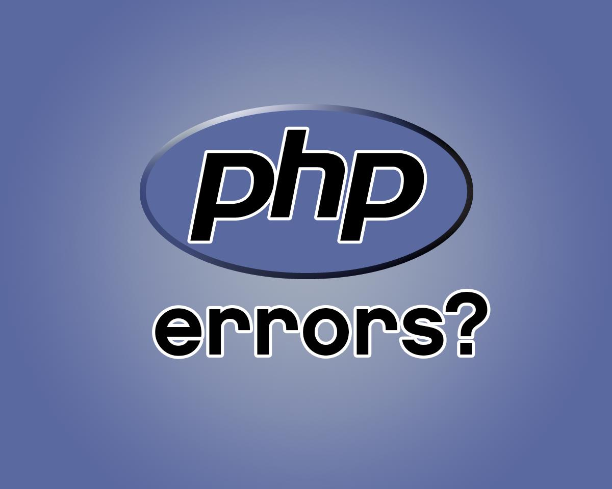 Fix PHP Errors and Problematic Code by willrowe - 34910