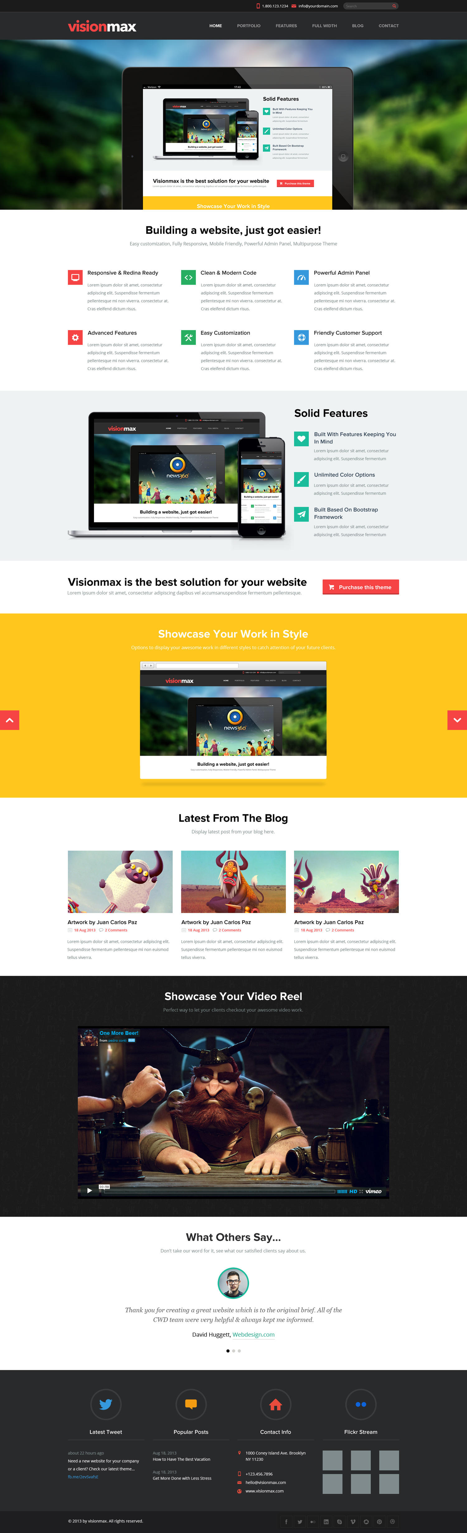 Responsive Website Designs by nasirwd - 52493