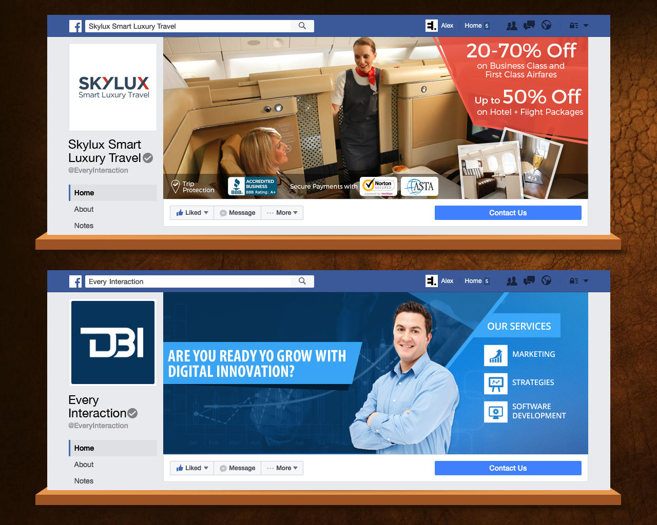 Professional facebook timeline cover design by for Home design ideas facebook