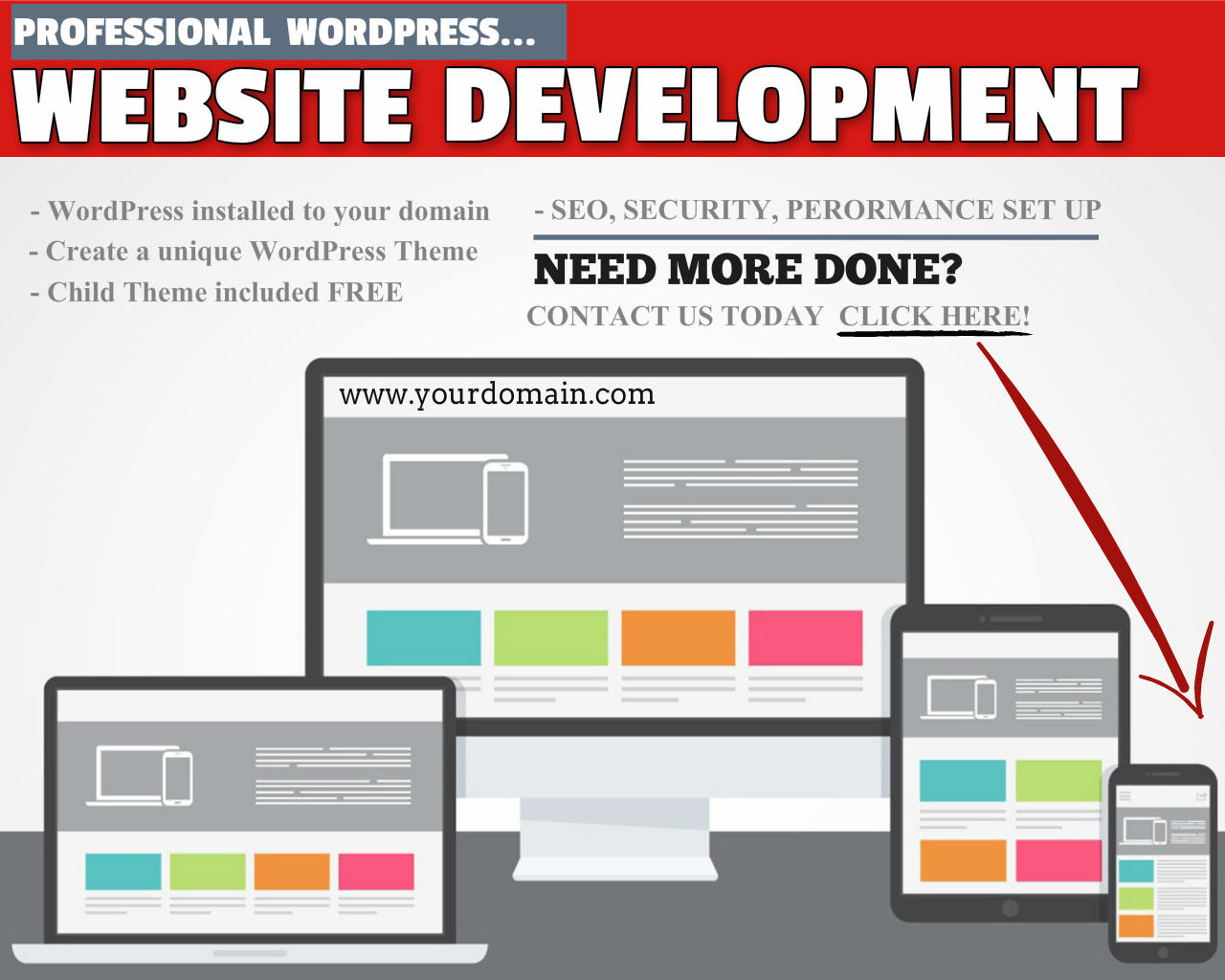 HTML / WordPress Responsive Website Design and Development by WPJunkiez - 99254