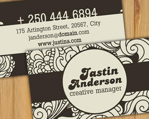 Design of Business Card in any Style by Hotpin - 317