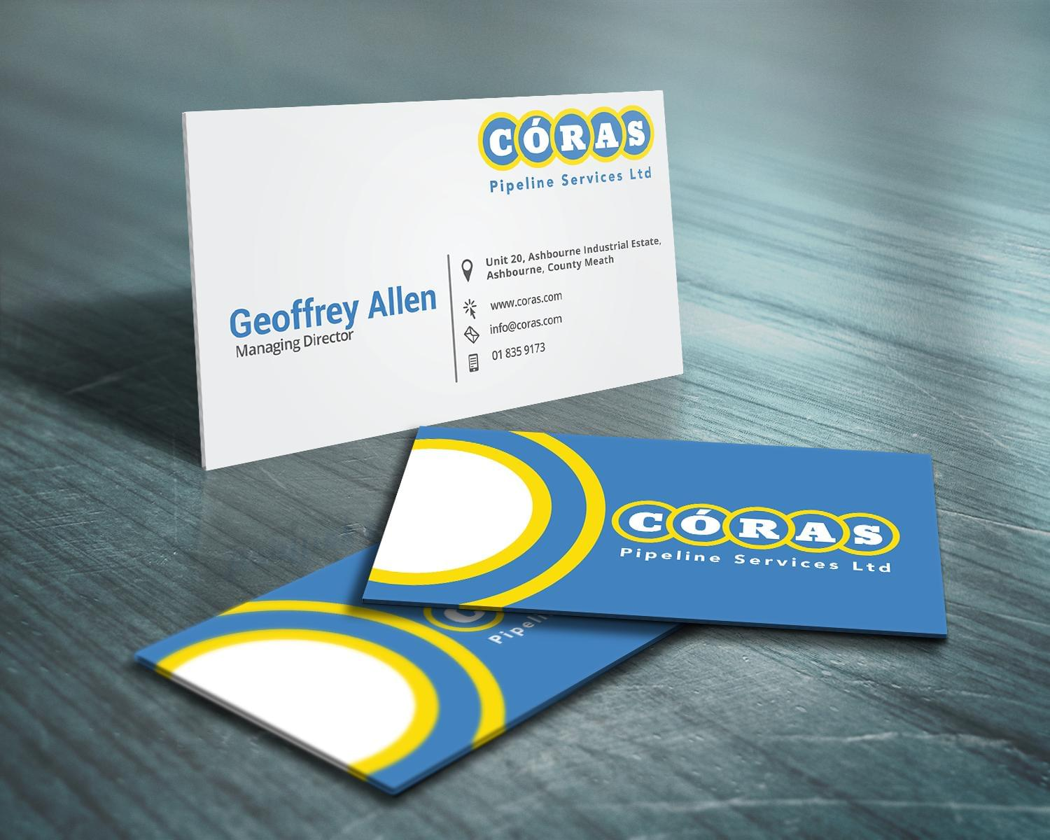 Professional & Creative Business Card Design by edgyBrain - 111622
