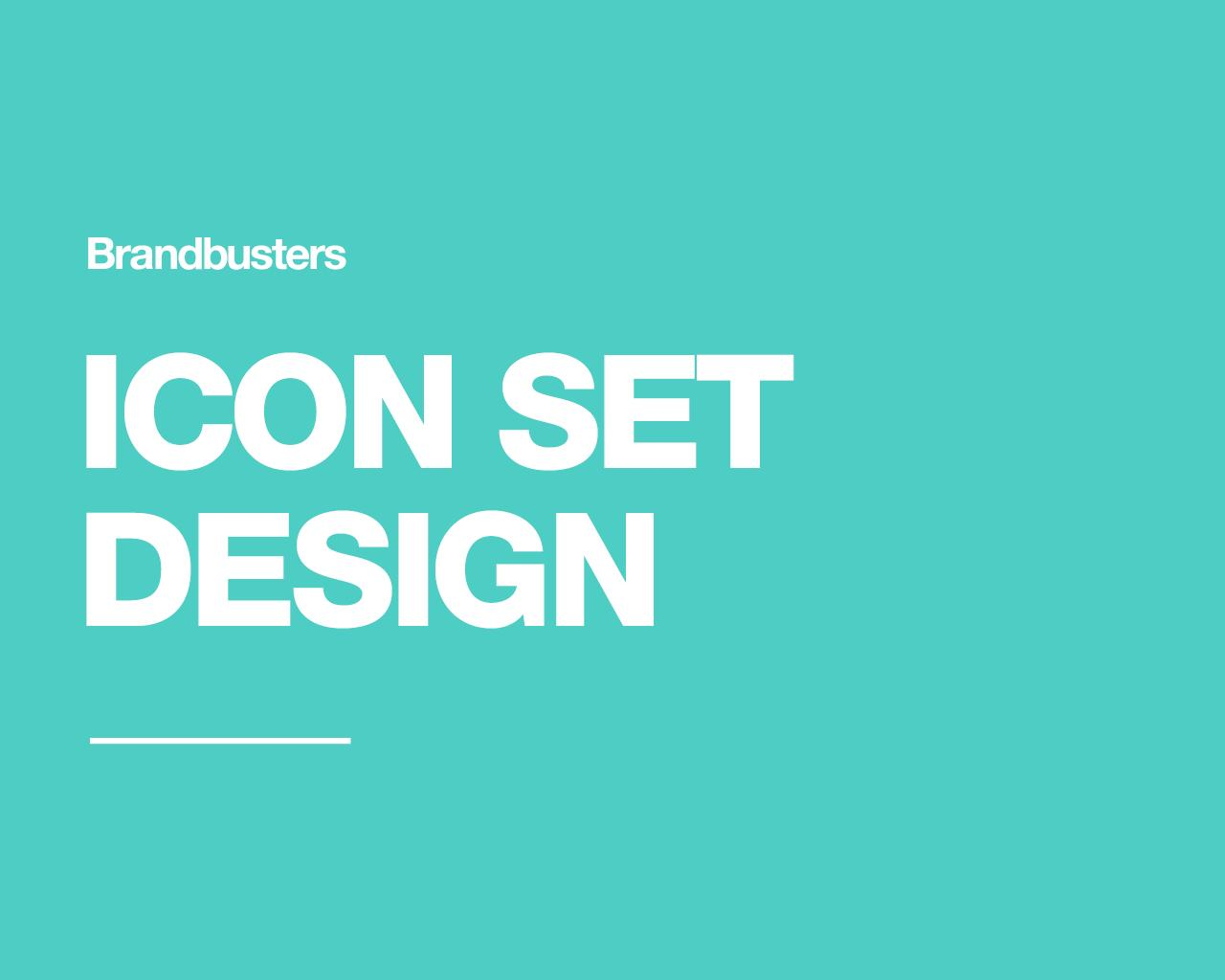 Professional Icon Set Design by Brandbusters - 110655