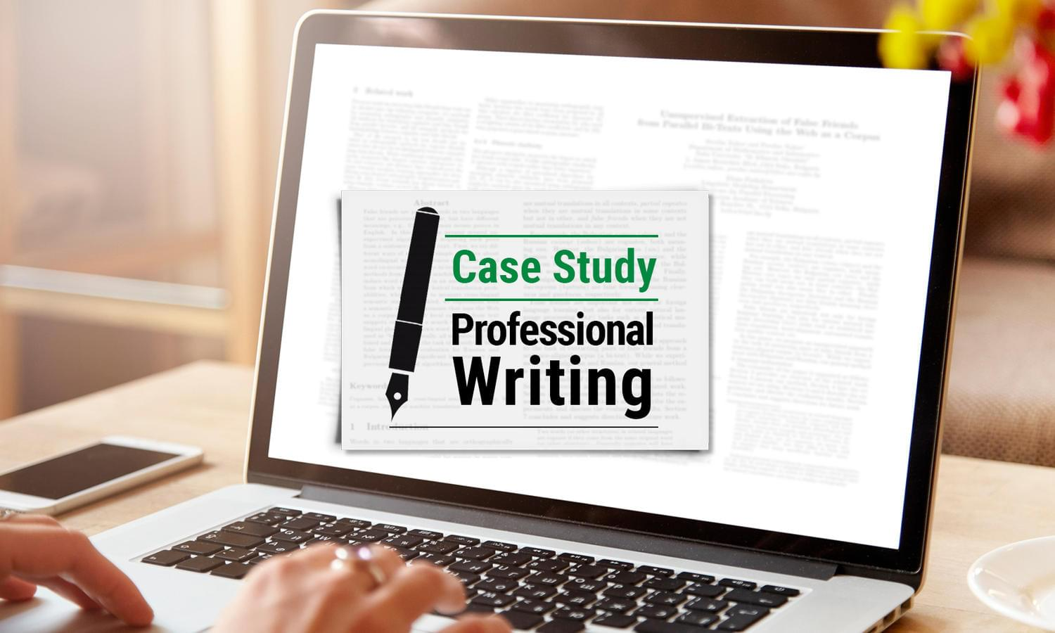 Case Study Professional Writing by madridnyc - 111560
