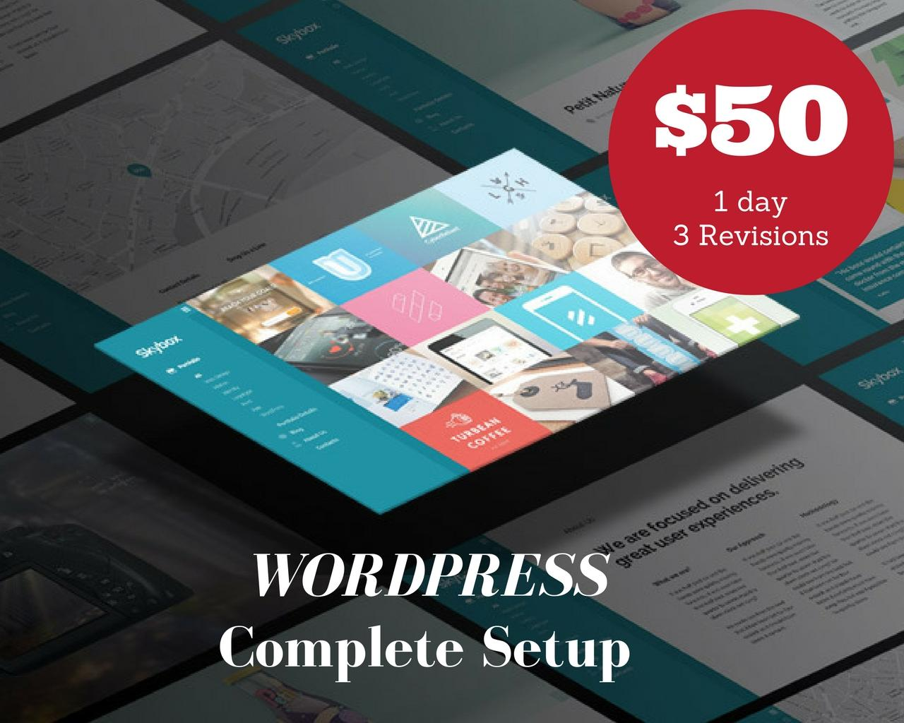 WordPress Complete Setup (Speed,SEO and Security) by falz04 - 102278