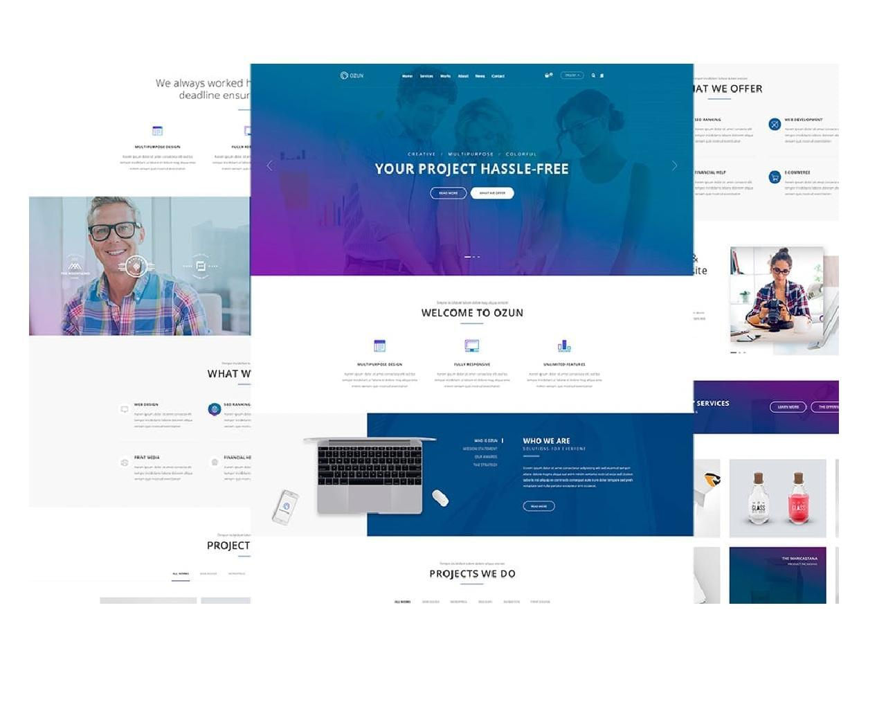 Express PSD to HTML5/CSS3 by pluginpunch - 114141