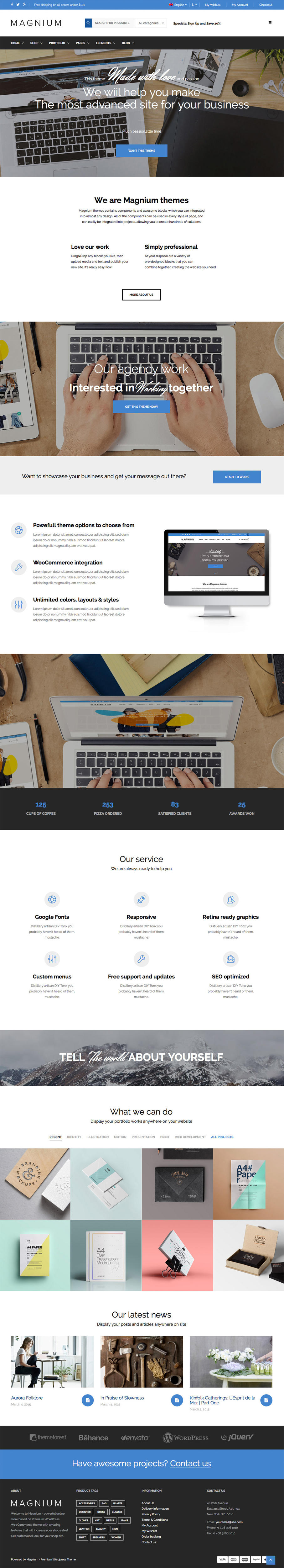 Creative Professional Inner Page Web Design / Redesign by dedalx ...