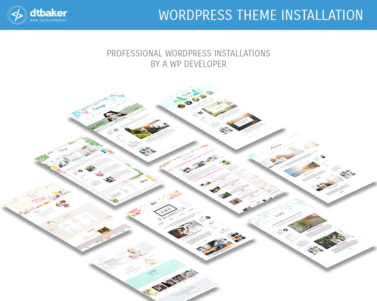 WordPress Theme Installation by dtbaker - 106205