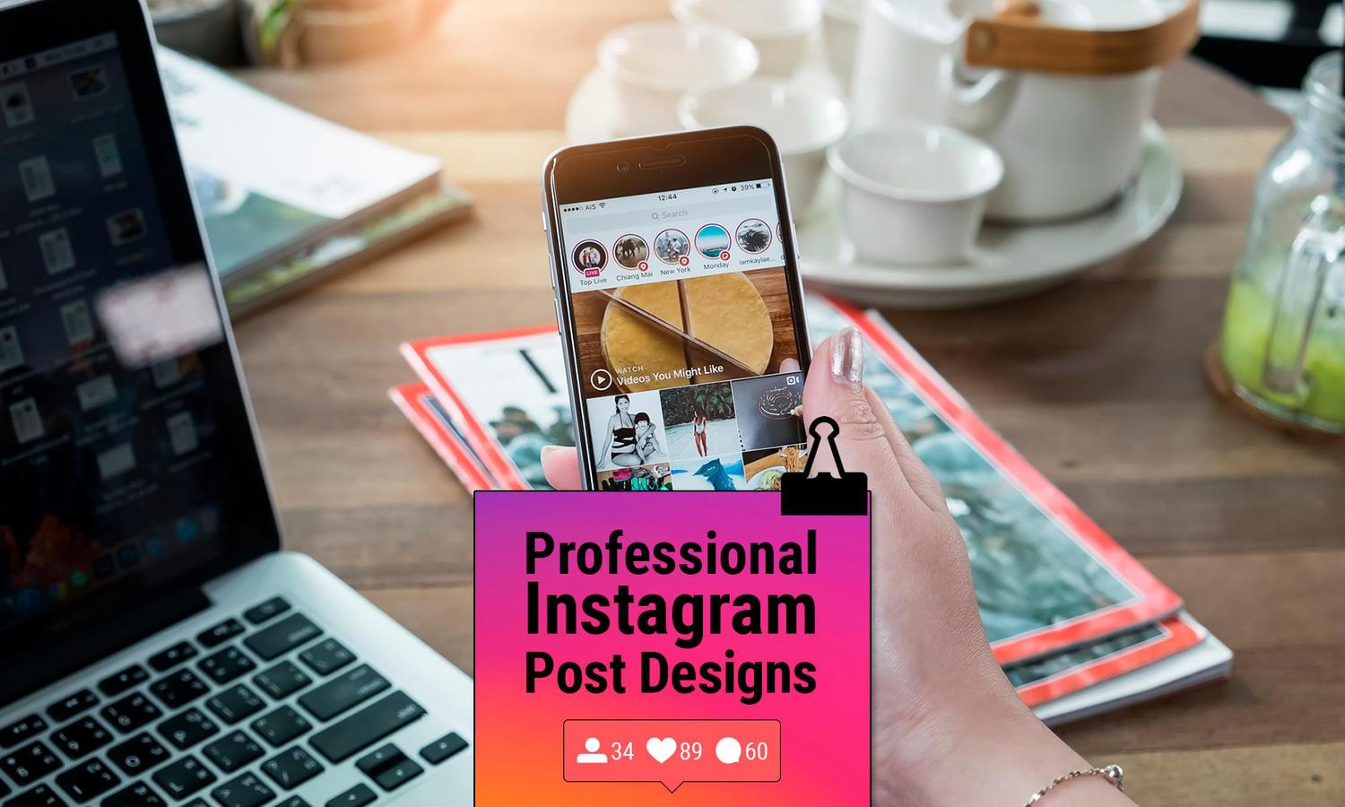 Professional Instagram Post Design by madridnyc - 111972
