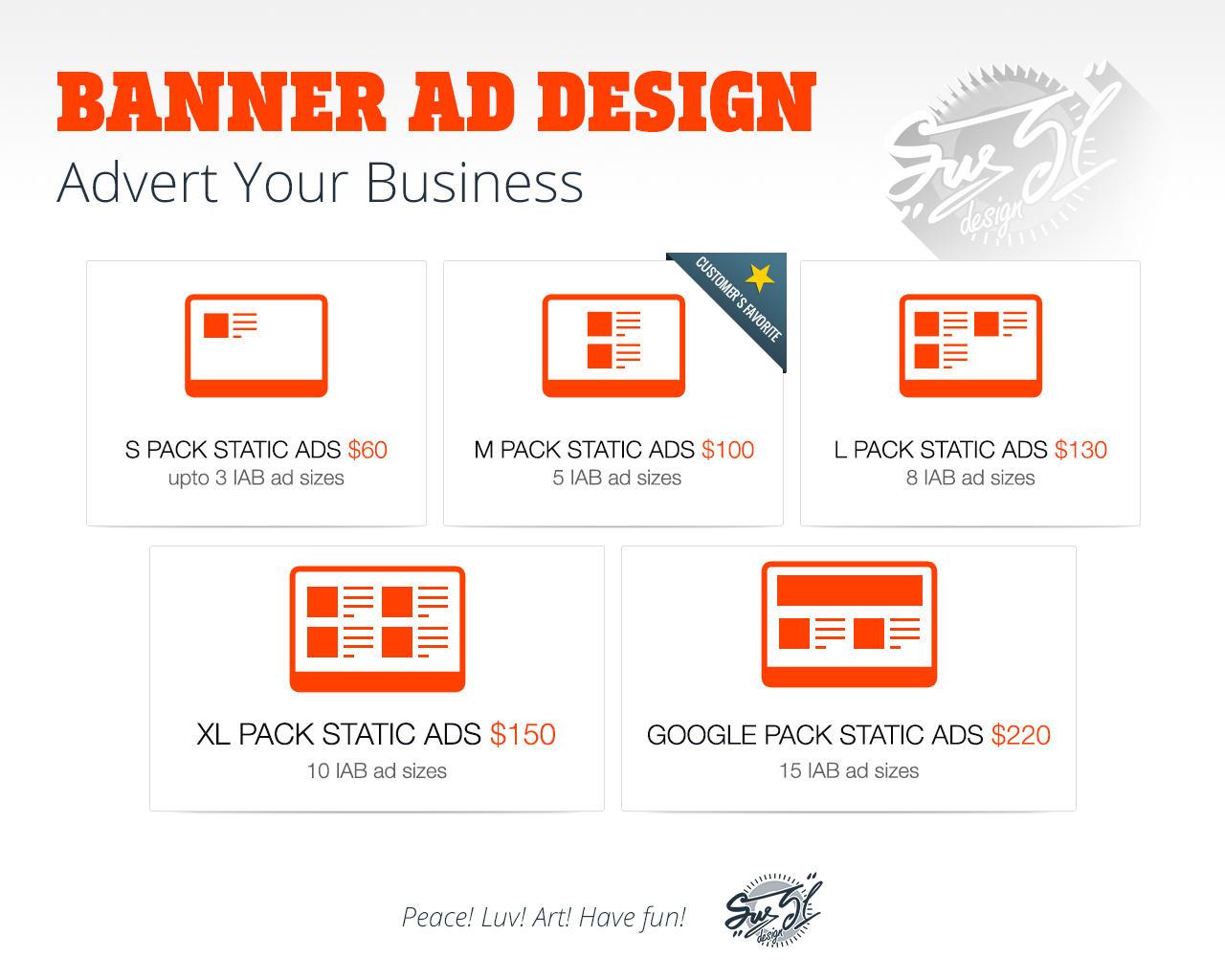 Premium Web Banner Ads Full Google Ad Pack By Sus31 On Envato Studio