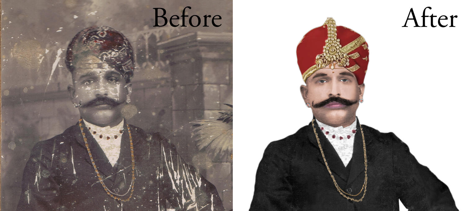 Photo Restoration of Any Photo by kushal_chaudhari - 91309