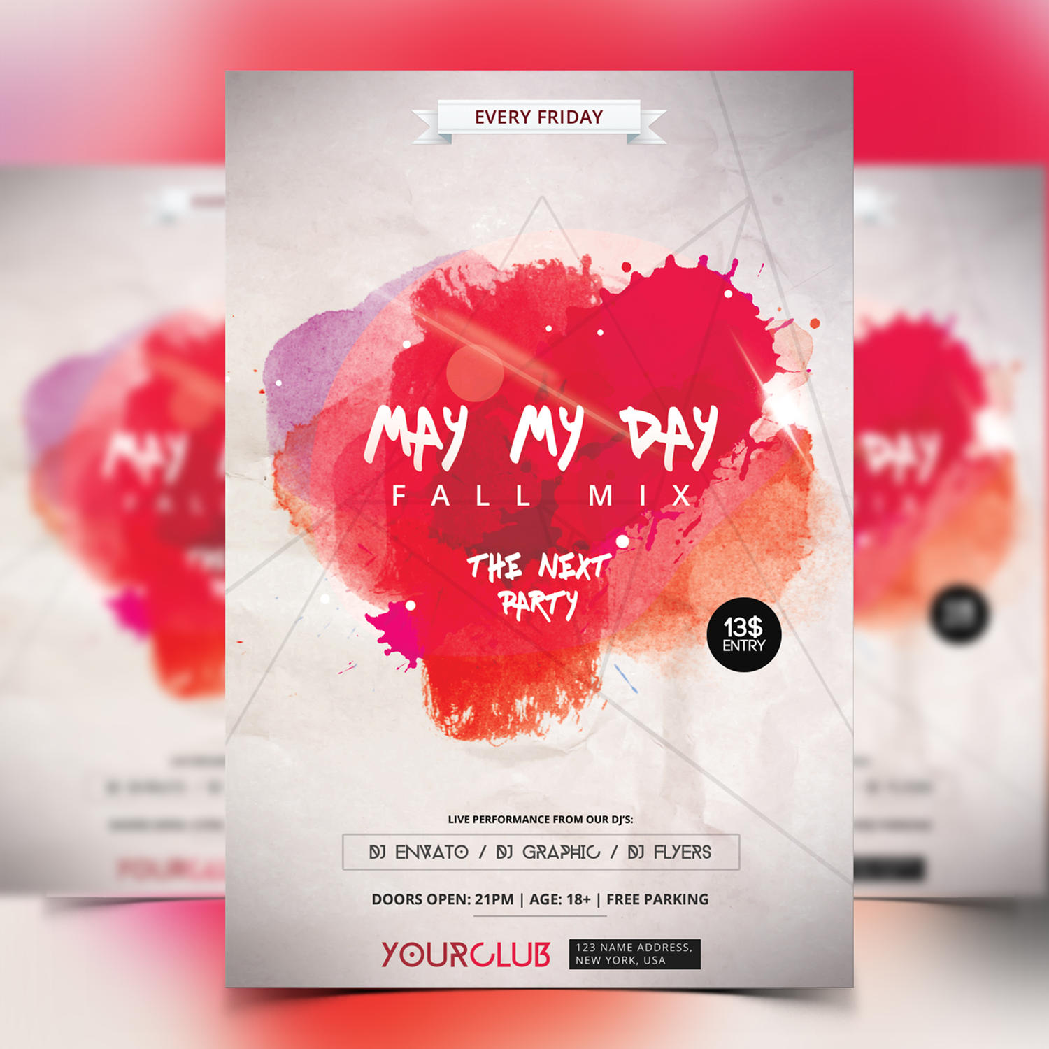Design Custom Colorful Flyer by fidanselmani - 93131