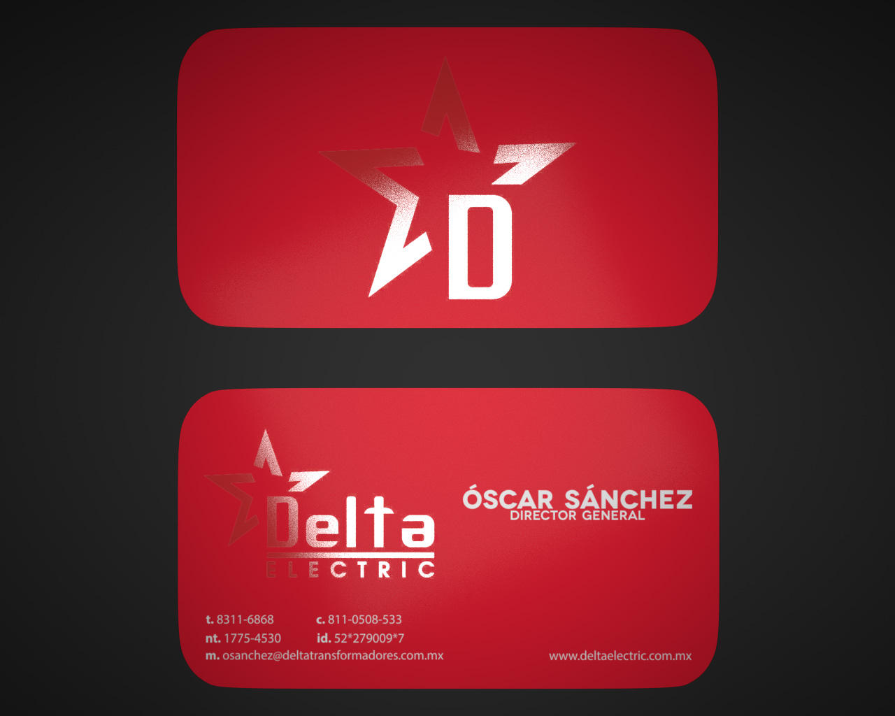 Professional Business Card Design by Mcklog on Envato Studio