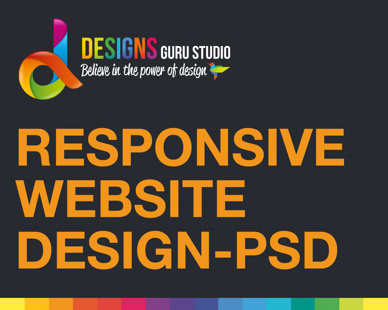 Responsive Website Design (PSD) by designsgurustudio - 93967