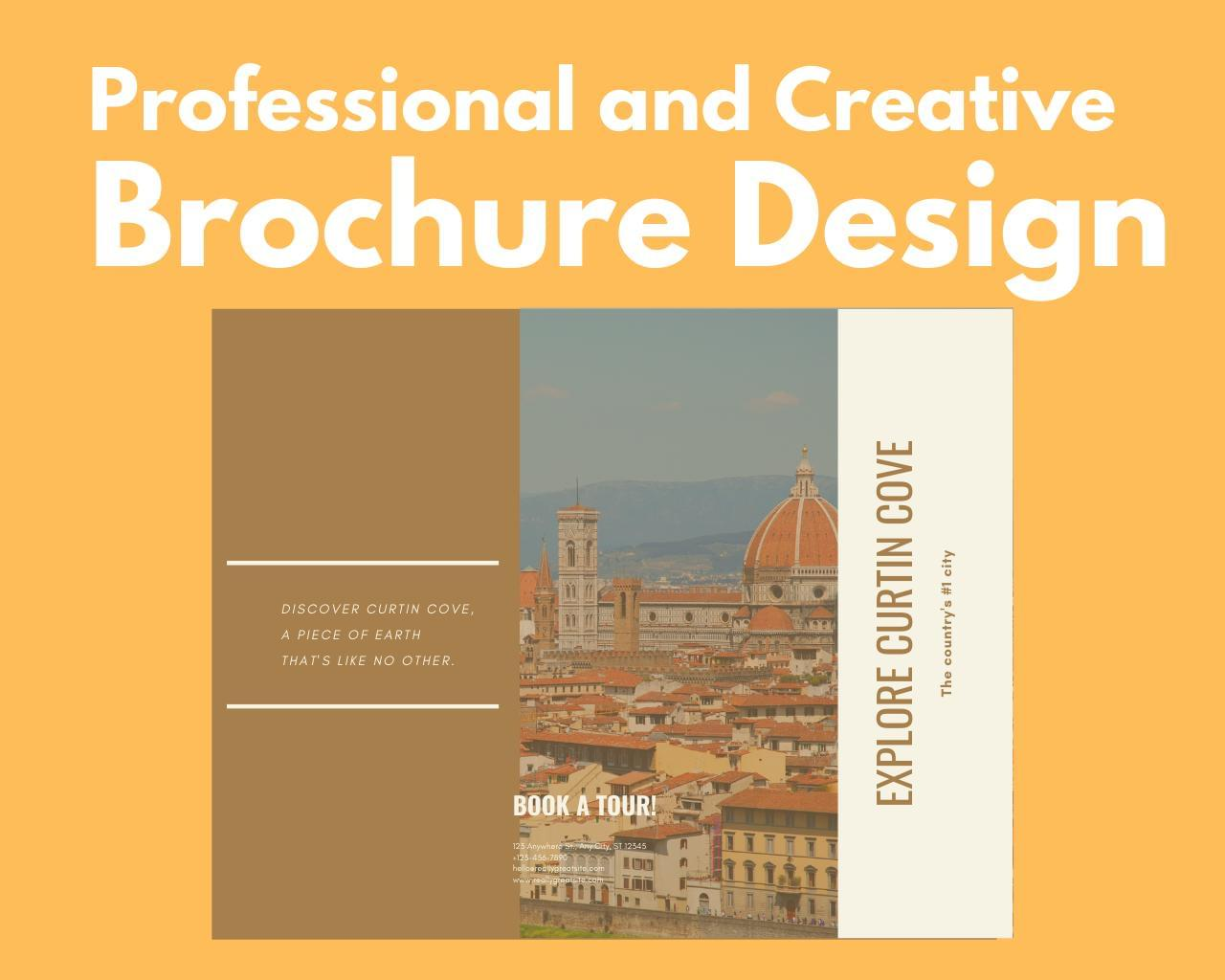 Professional and Creative Brochure Design by DePautaMadre - 119482