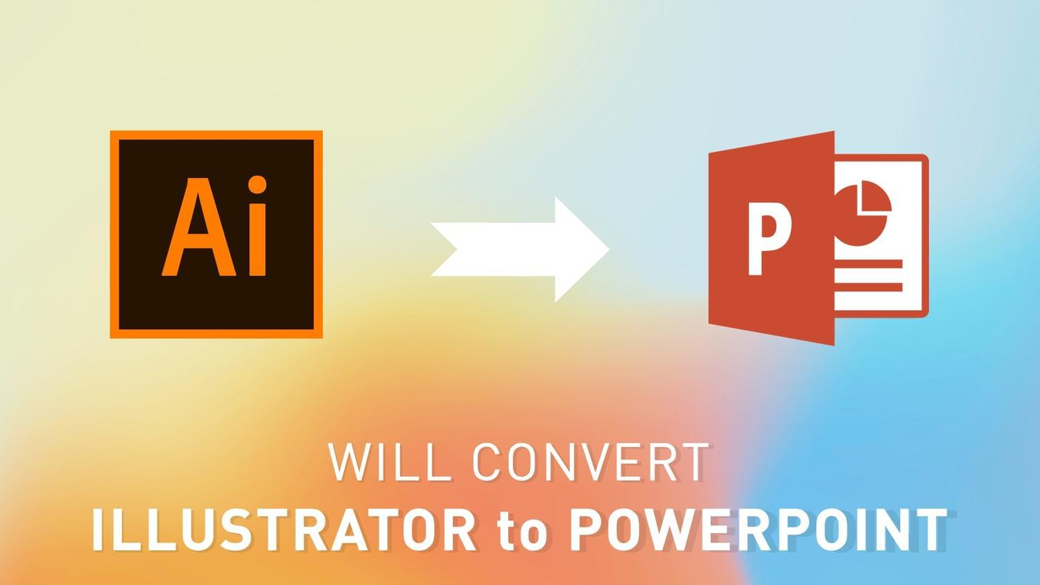 Convert Illustrator to Microsoft PowerPoint by arvaone - 115076