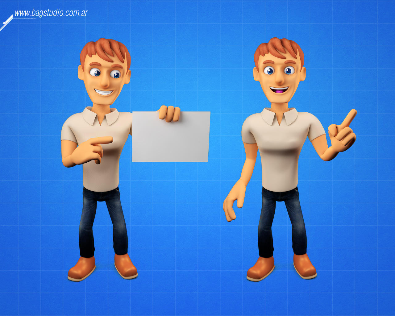 3D Character / Mascot Design  by Gabey005 - 102302